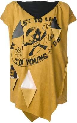 Vivienne Westwood oversized asymmetric T-shirt