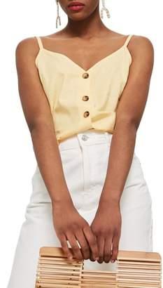 Topshop Button Through Camisole Top
