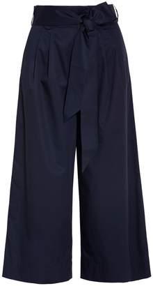 Tibi Wide Leg Belted Pants