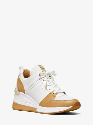 MICHAEL Michael Kors Georgie Leather Trainer