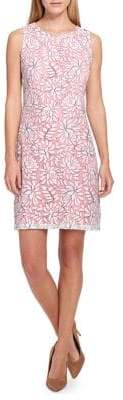 Tommy Hilfiger Tropical Lace Shift Dress