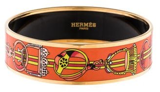 Hermès Wide Enamel Bracelet
