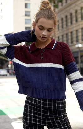 5d43157cce at PacSun · Kendall & Kylie Chunky Polo Sweater