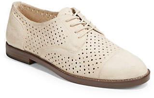 Lauren Ralph Lauren Perforated Suede Oxford Shoes