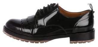 Valentino Patent Leather Oxfords
