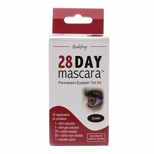 Godefroy 28 Day Mascara Permanent Eyelash Tint Kit, Brown