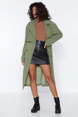 Nasty Gal Got It Covered Longline Trench