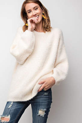 Easel Brushed Knit Sweater