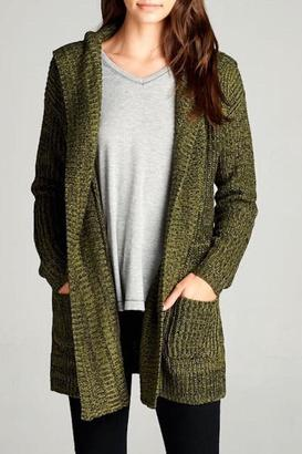 Staccato Campfire Cardigan $60 thestylecure.com