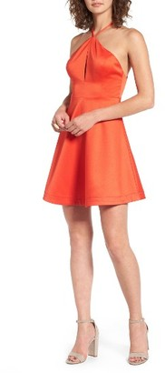 Women's Lush Fit & Flare Dress $49 thestylecure.com