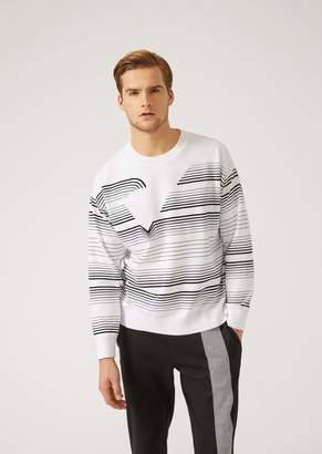Emporio Armani Lightweight Cotton Knit Sweater