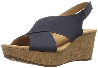 f4deca5d738 at Amazon.com · Clarks Women s Annadel Eirwyn Wedge Sandal