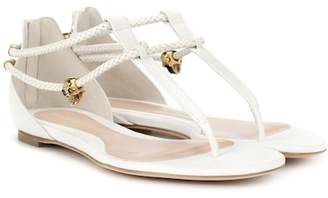 Alexander McQueen Leather sandals