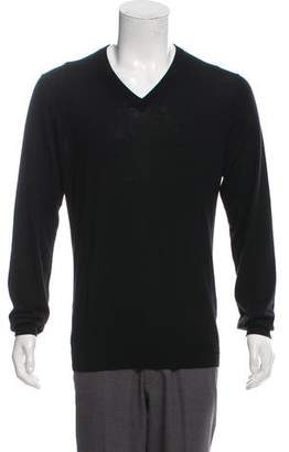 Hermes Cashmere V-Neck Sweater