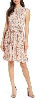 French Connection Eva Light Mix Sleeveless Dress