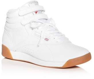 9ac869fbd4a9 Reebok Women's Freestyle Leather High Top Sneakers