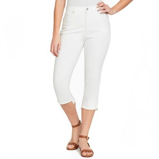 Gloria Vanderbilt Women's Amanda Step Hem Capri Jeans