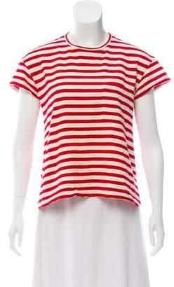 Sleepy Jones Striped Short Sleeve Top