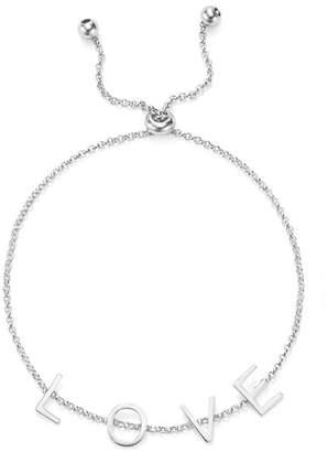 Argentovivo Love Adjustable Bracelet