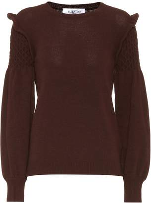 Valentino Wool and cashmere sweater