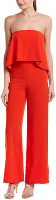 Do & Be DO+BE Do+Be Strapless Jumpsuit