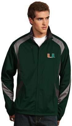 Antigua Men's Miami Hurricanes Tempest Desert Dry Xtra-Lite Performance Jacket