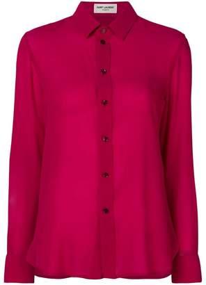 Saint Laurent classic flowy shirt