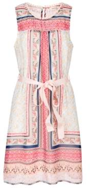 Monteau Big Girls Printed Shift Dress