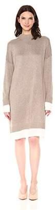 Calvin Klein Women's Sweater Dress with Shirting