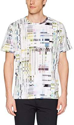 Robert Graham Men's Aquatic Short Sleeve Knit T-Shirt