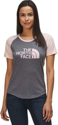The North Face Half Dome Graphic Tri-Blend Short-Sleeve Baseball T-Shirt - Women's