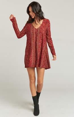 Show Me Your Mumu Bryce Dress ~ Hutton Stripe Spandy