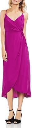 Vince Camuto Sleeveless Midi Wrap Dress