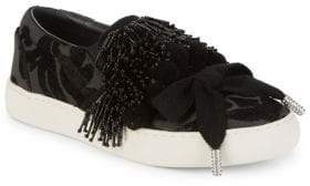 Marc Jacobs Mercer Pom Pom Slip-On Sneakers