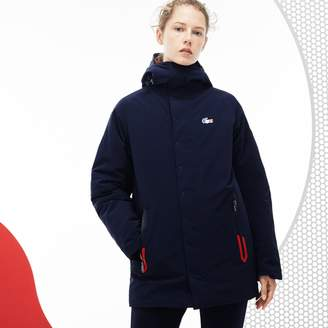 Lacoste Women's French Sporting Spirit Edition Reversible Quilted Parka