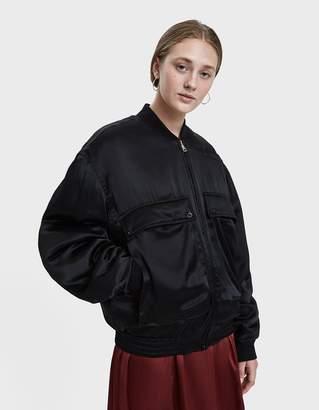 Katharine Hamnett Rene Silk Bomber Jacket