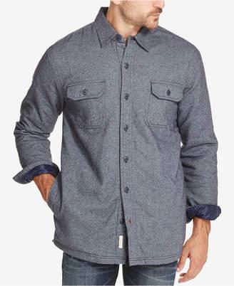 Weatherproof Vintage Men Fleece Shirt Jacket