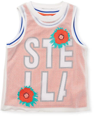 Stella McCartney Embroidered Floral Top