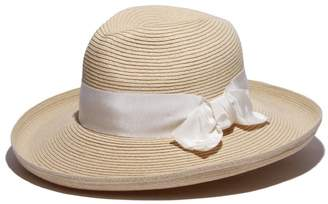 Physician Endorsed Women's Adriana Toyo Straw Fedora Packable Sun Hat, Rated UPF 50+ for Max Sun Protection