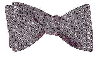 Barneys New York Men's Dot-Pattern Silk Bow Tie
