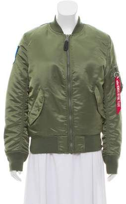 Alpha Industries Reversible Bomber Jacket