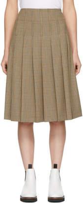 A.P.C. Beige Nina Skirt