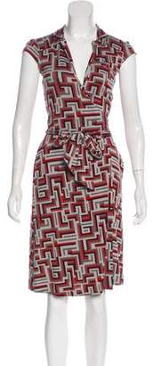 Diane von Furstenberg Griffith Silk Dress