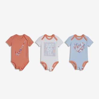 Nike Squiggle Infant JDI 3-Piece Bodysuit Set