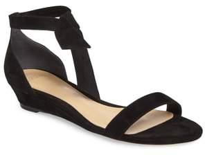 Alexandre Birman Atena Tie Strap Wedge Sandal