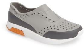 Toddler Boy's Native Shoes Lennox Block Slip-On Sneaker $40 thestylecure.com