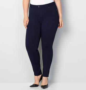 Avenue Fashion Color Ponte Knit Jean