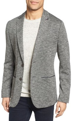 Men's Ted Baker London Italy Modern Slim Fit Textured Jersey Blazer $485 thestylecure.com