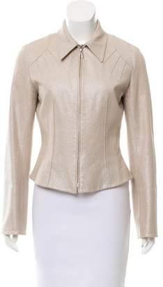 Thierry Mugler Tailored Metallic Jacket