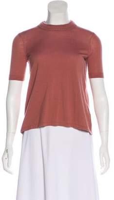Isabel Marant Short Sleeve Wool Top
